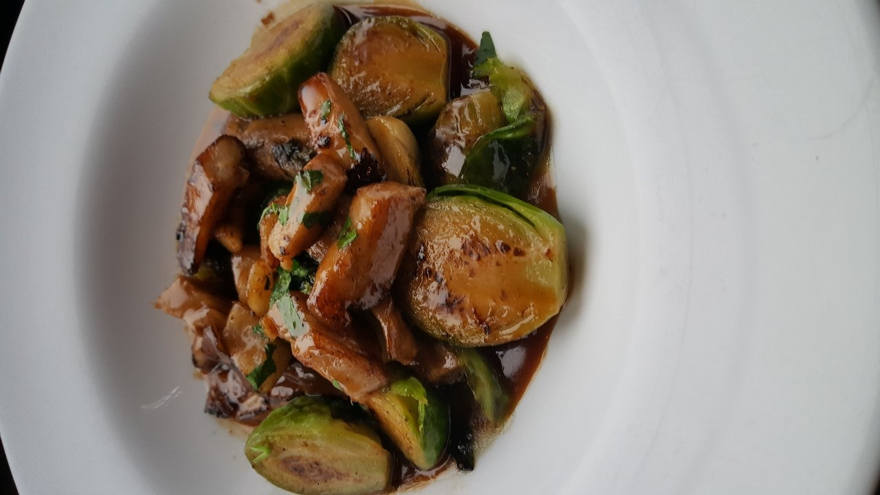 Fried Brussels Sprout